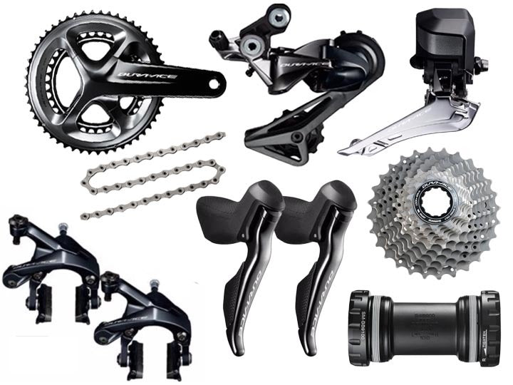Shimano Dura-Ace DI2 R9150 Groupset  - TUNE cycles