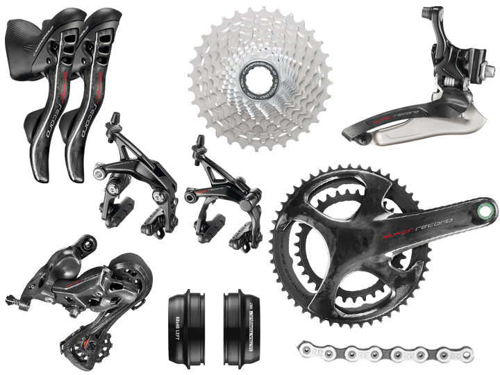 Campagnolo Super Record 12 Speed Groupset  - TUNE cycles