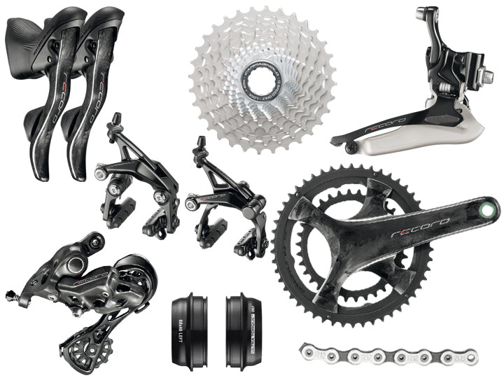 Campagnolo Record 12 Speed Groupset  - TUNE cycles