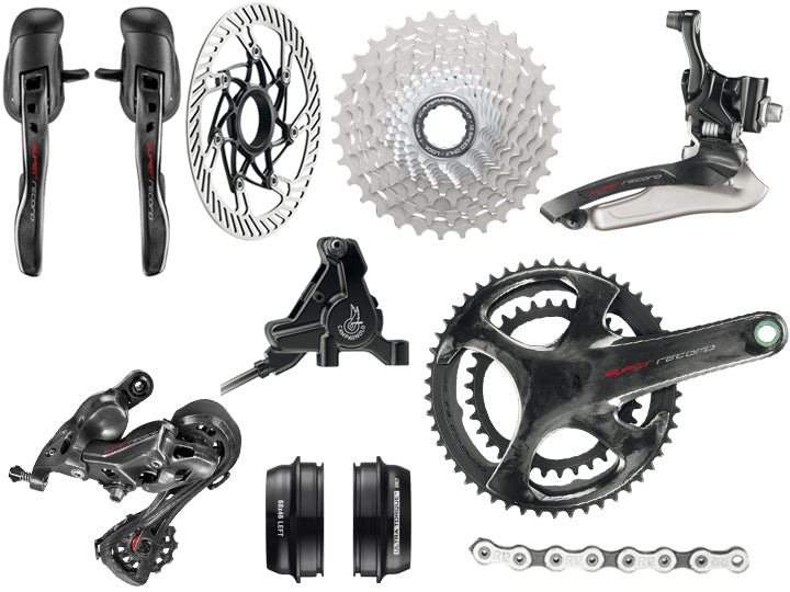 Campagnolo Record 12 Speed Disc Groupset  - TUNE cycles