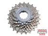 Shimano Hg50 9 Speed Cassette Silver Grey 12-25  - TUNE cycles