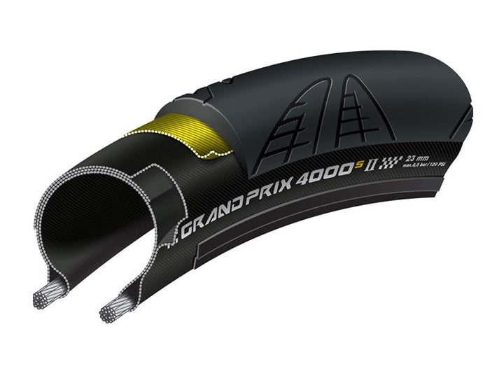 Continental GP4000S II Tyre  - TUNE cycles