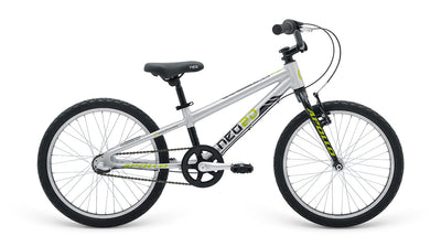 Neo 20 3I Boys Brushed Alloy / Black / Lime  - TUNE cycles