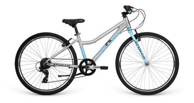 Neo 26 7S Girls Brushed Alloy / Sky Blue / Charcoal  - TUNE cycles