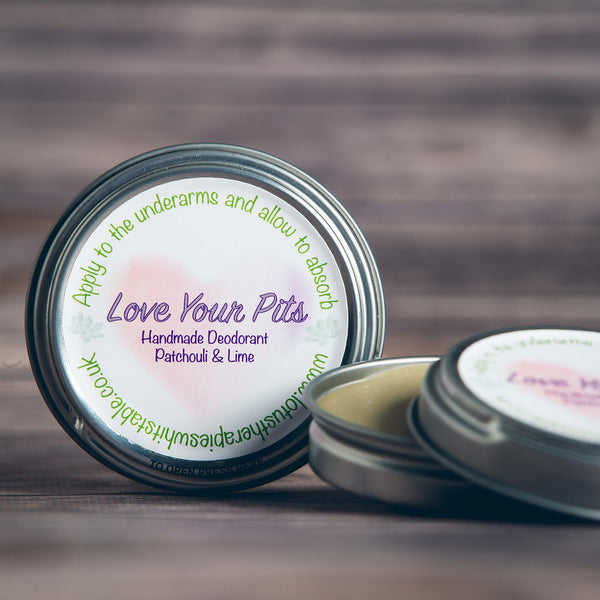 Patchouli and Lime Natural Deodorant
