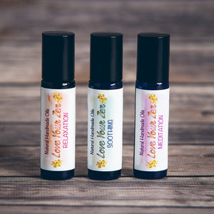 Set of 3 Love Your Zen Rollerballs