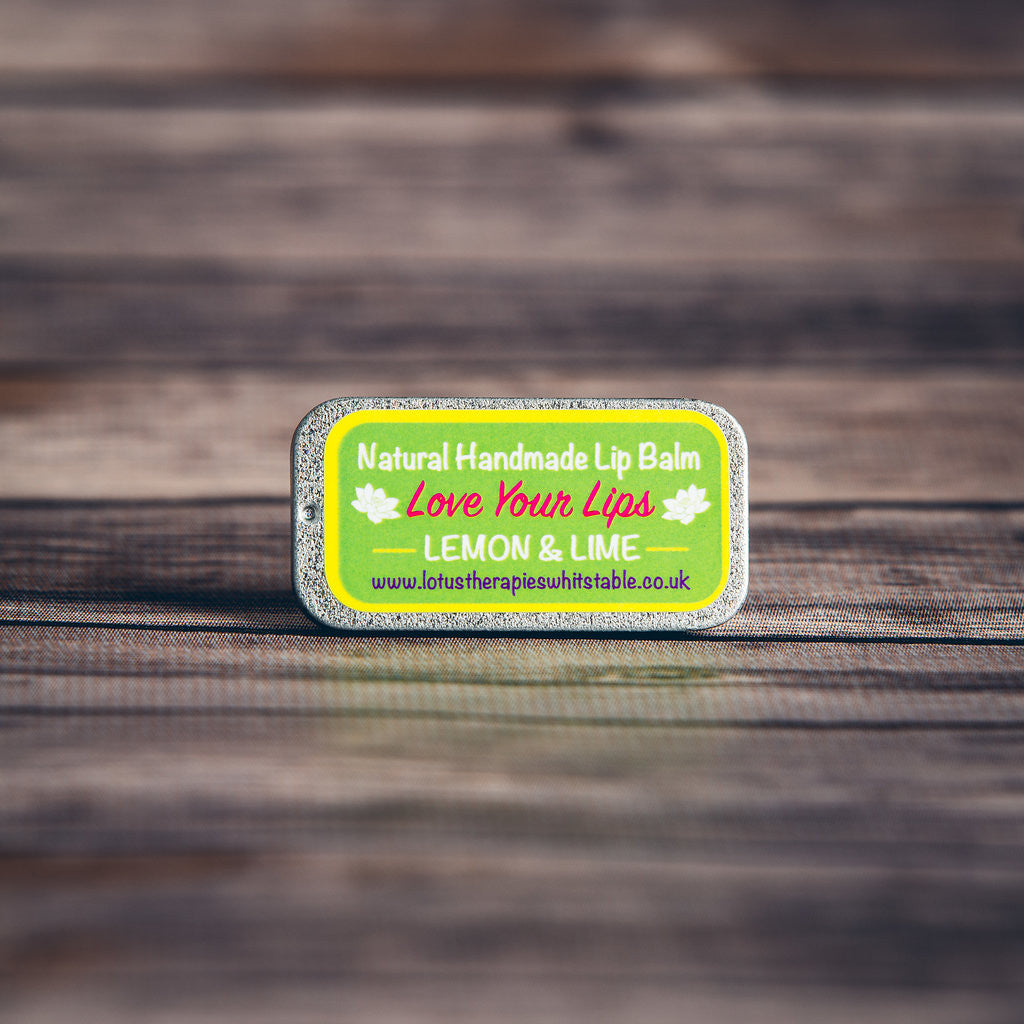 Lemon and Lime Vegan Lip Balm