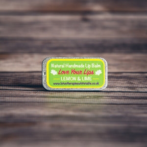 Love Your Lips Lemon & Lime Lip Balm