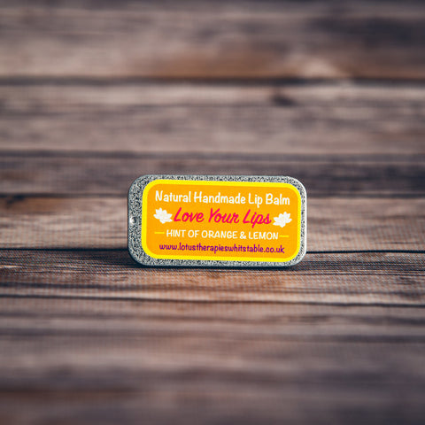 Love Your Lips Orange & Lemon Lip Balm