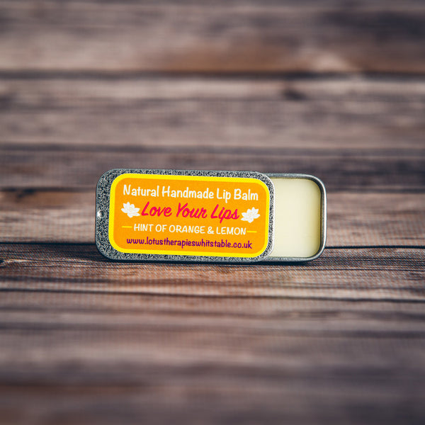 Orange and Lemon Vegan Lip Balm