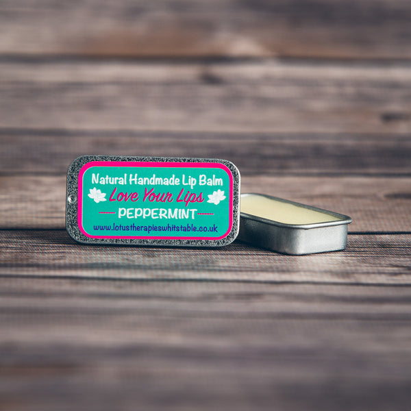 Peppermint Vegan Lip Balm