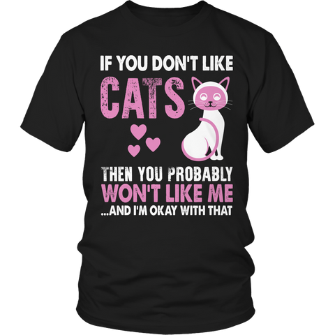 If You Don't Like Cats Tshirt