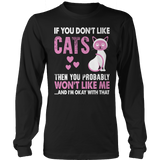 If You Don't Like Cats Hoodie