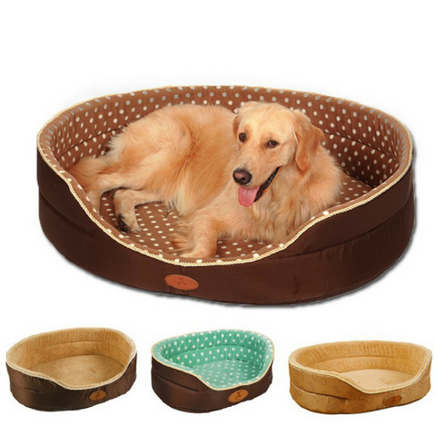 Double Sided Soft Luxurious Fleece Dog Bed