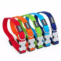 Adjustable Nylon Dog Collar (Multiple Sizes)