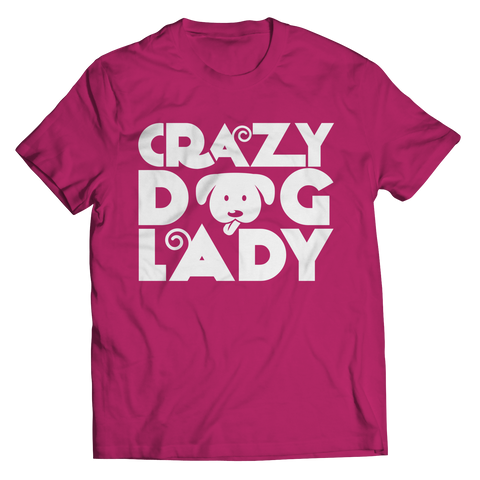 Crazy Dog Lady Tshirt