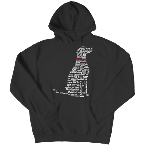 Dog Instructions Hoodie