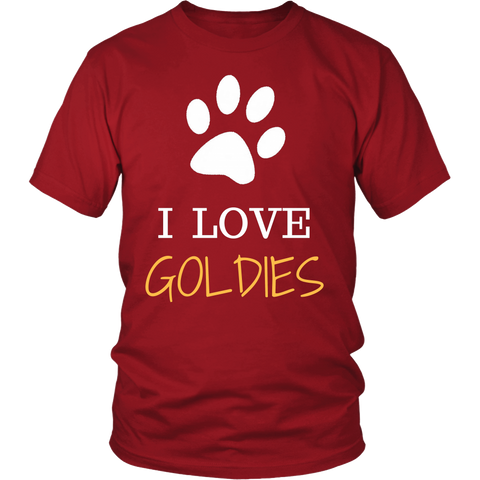 T shirt - I love My Golden Retriever