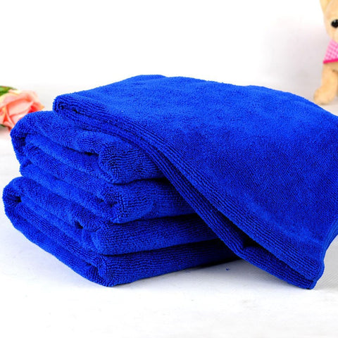 Soft and Absorbent Dog and Cat Bath Towel