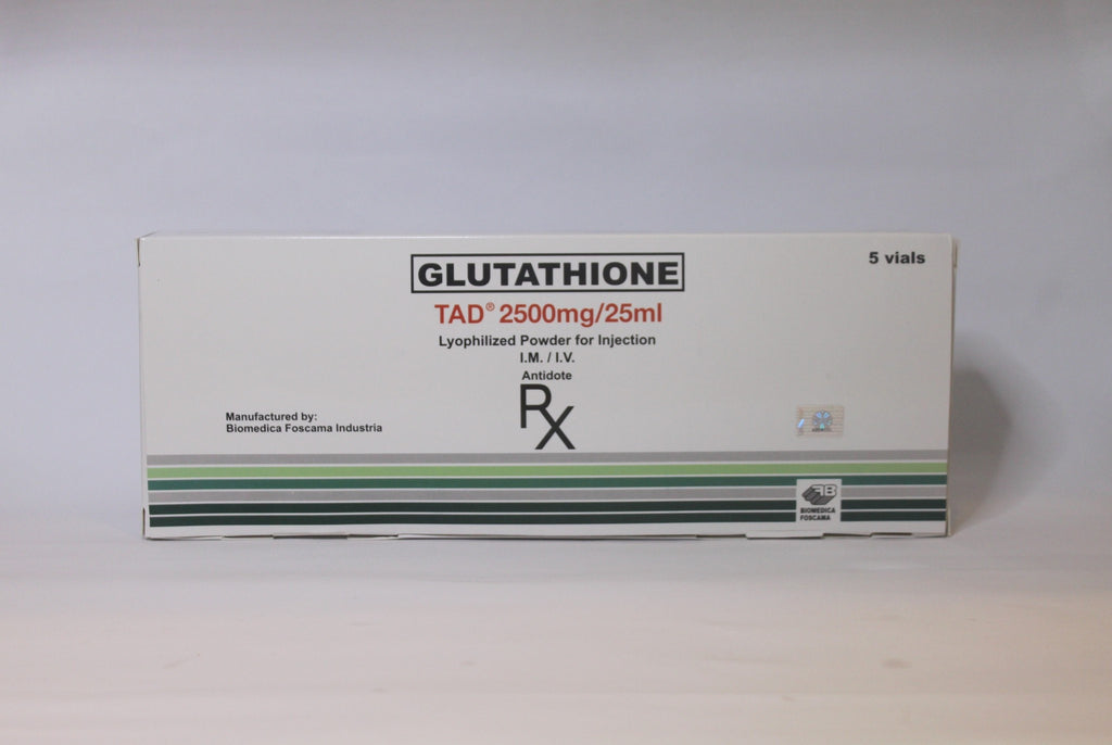Tad 2500mg Glutathione IV - Simple Mello