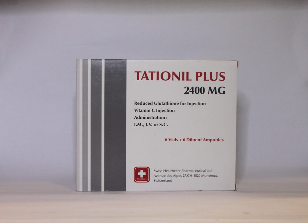 Tationil Plus 2400MG Glutathione IV - Simple Mello