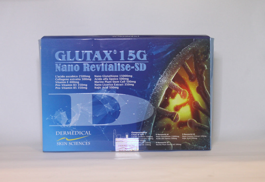 Glutax 15g Nano Revitalise Glutathione IV - Simple Mello