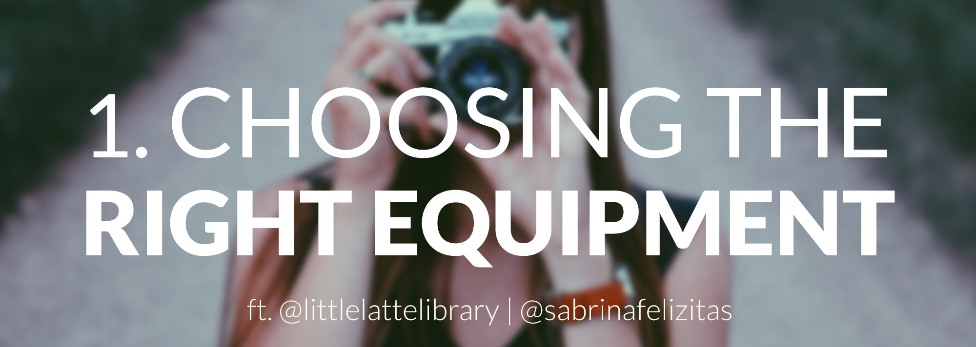 bookstagram title - choosing the right equipment