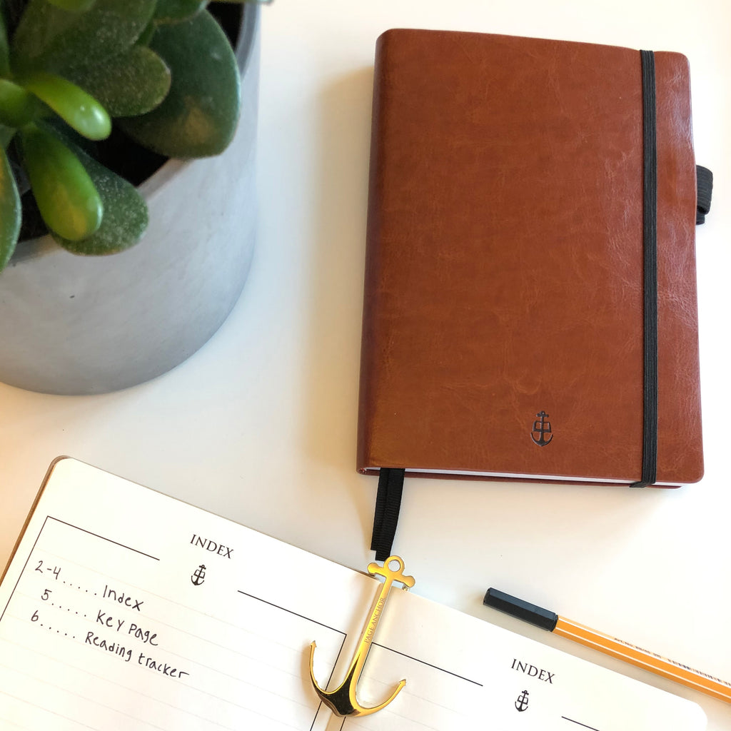 Soft Cover Thinker's Notebook: Chestnut