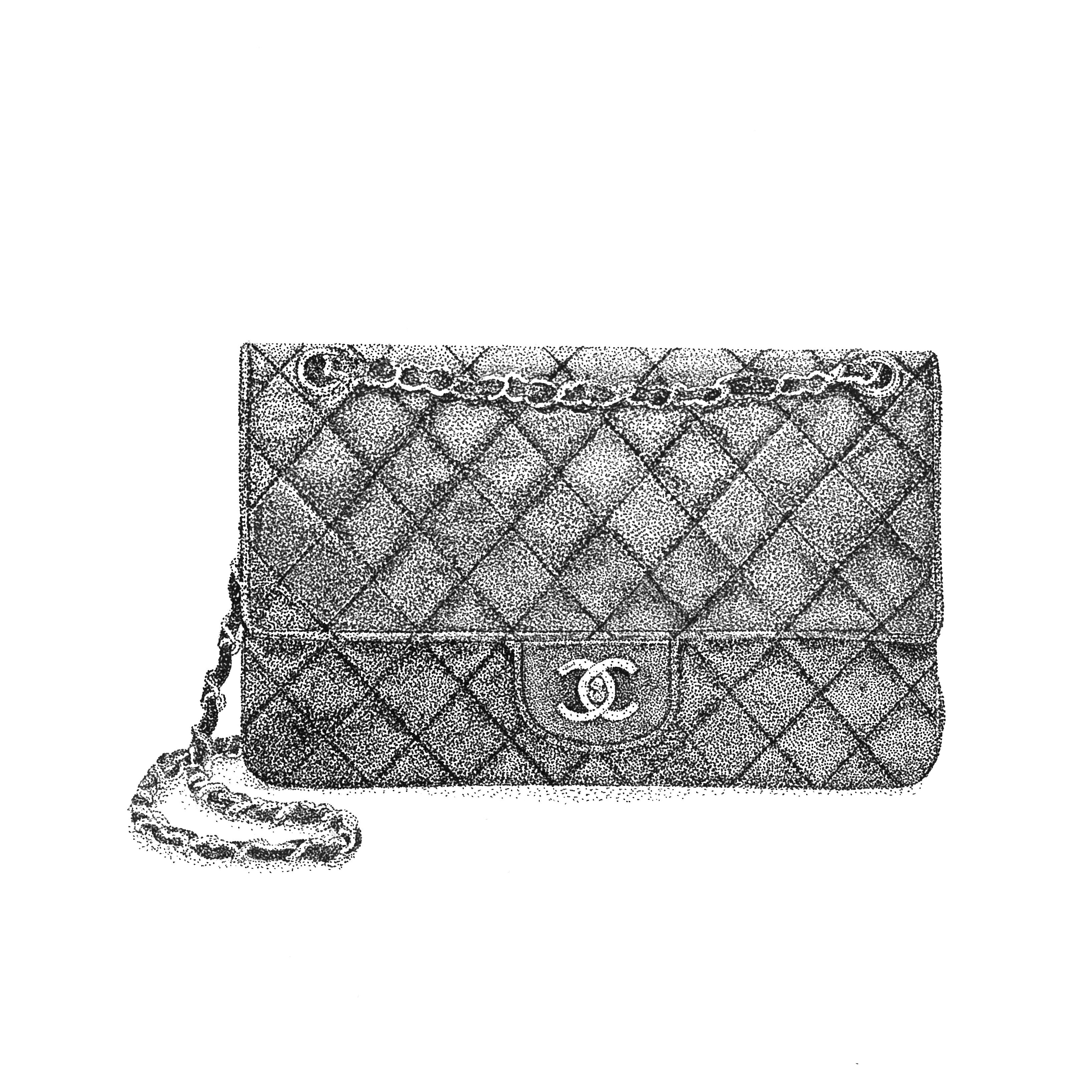 Chanel 2.55 (Original, framed)