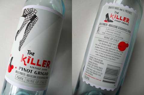 Wine Label Review-The Killer: Wino Shirt Club