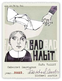 Wine Label Review-Bad Habit: Wino Shirt Club
