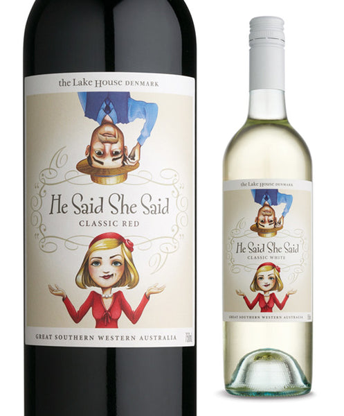 Wine Label Review-He Said She Said: Wino Shirt Club