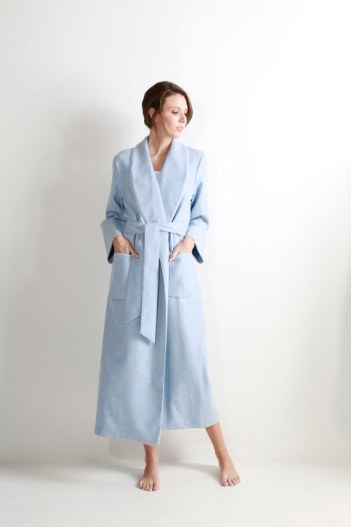Johnstons of Elgin Cashmere Woman\'s Robe | Artisan Women\'s Products ...