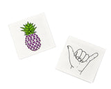 Beach Bum Temporary Tattoos - Cool Pineapple