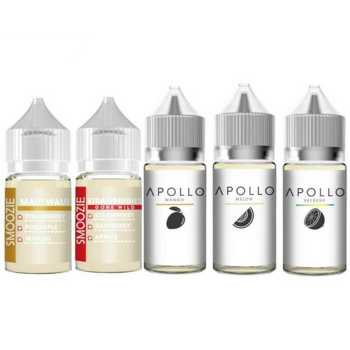 150ml Nicotine Salt Bundle by Apollo E-Liquids - Cheap Vape Juice - East Coast Vape Distribution