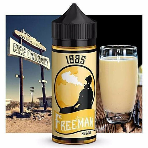 1885 by Freeman Vape Juice E-Juice - Cheap Vape Juice - East Coast Vape Distribution