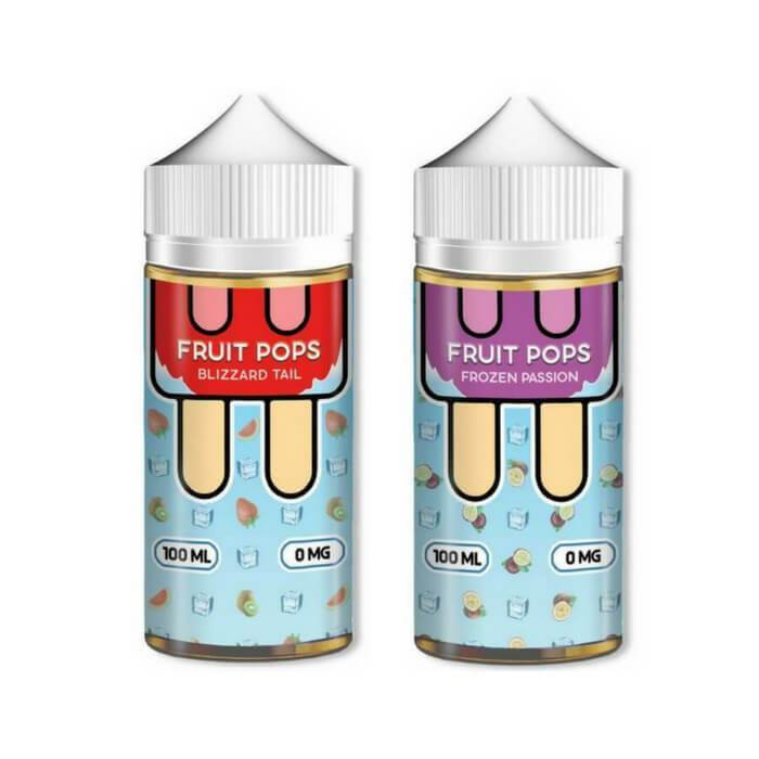 200ml Bundle by Fruit Pops eJuice - Cheap Vape Juice - East Coast Vape Distribution