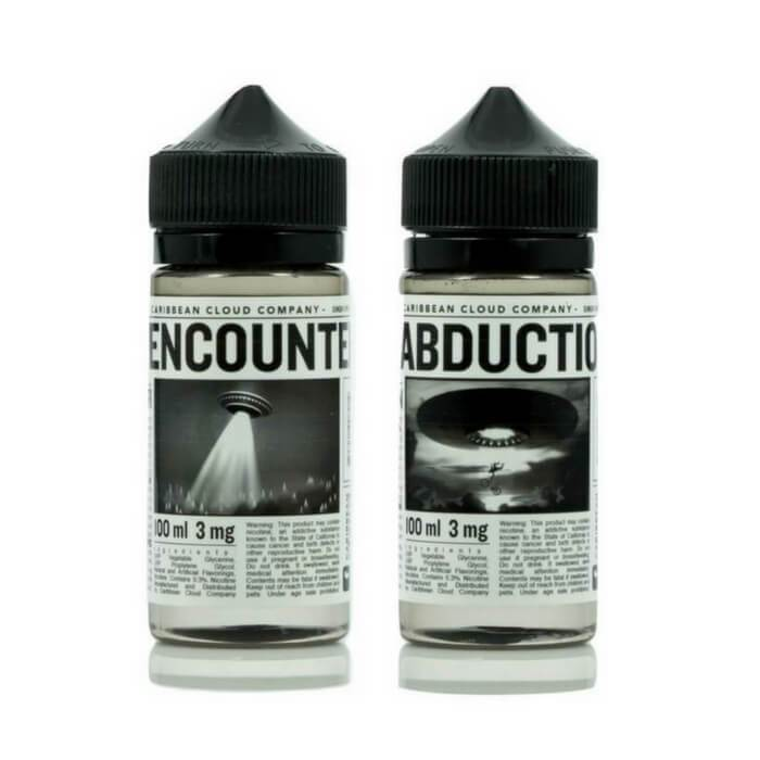 200ml UFO Bundle by Caribbean Cloud Company eJuice