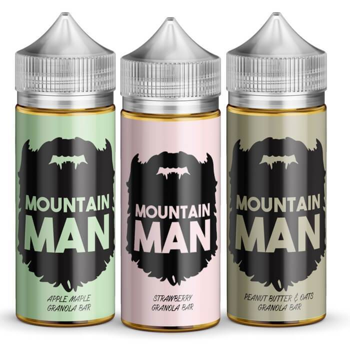 300ml Bundle by Mountain Man E-Liquid - ECVD