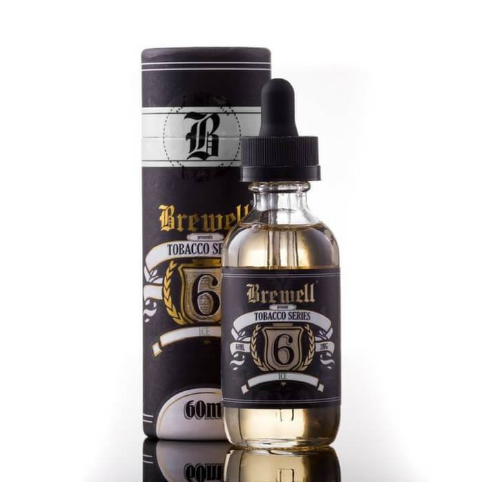 #6 (Ice) by Brewell Tobacco Series - Cheap Vape Juice - East Coast Vape Distribution