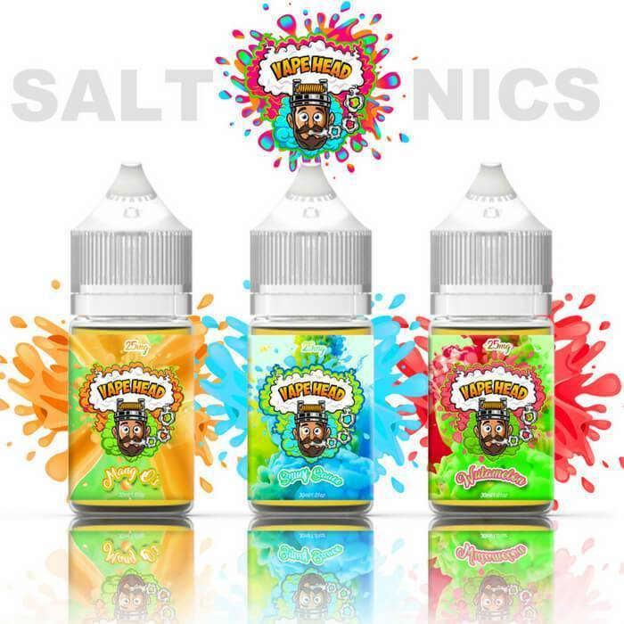 90ml Original Nicotine Salt Bundle by Vape Heads Sour E-Liquid #1