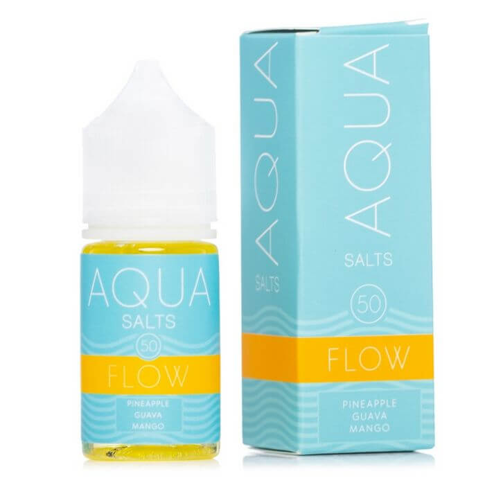 Flow by Aqua Nicotine Salt E-Liquid