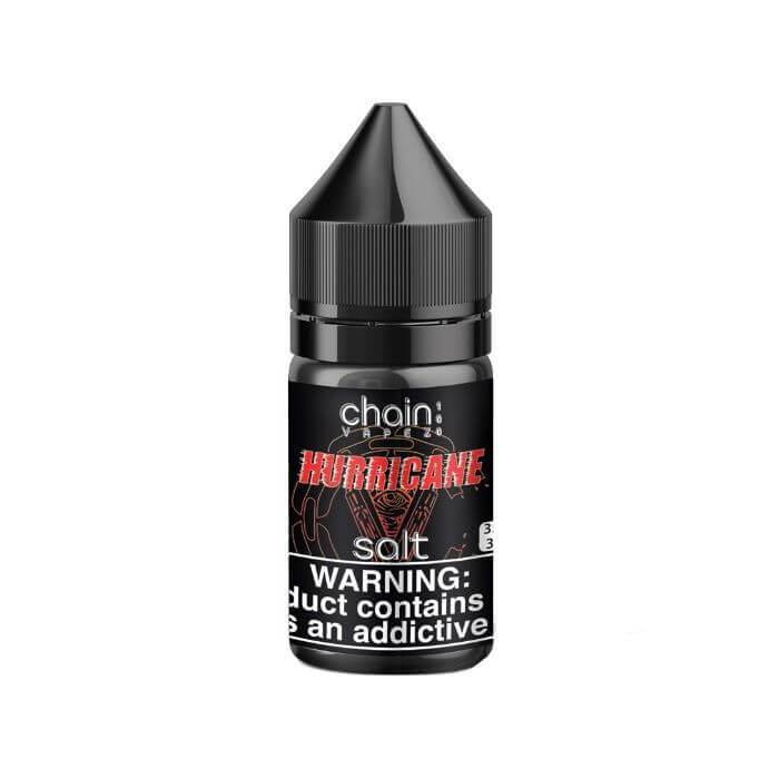 Hurricane by Chain Vapez Nicotine Salt E-Liquid