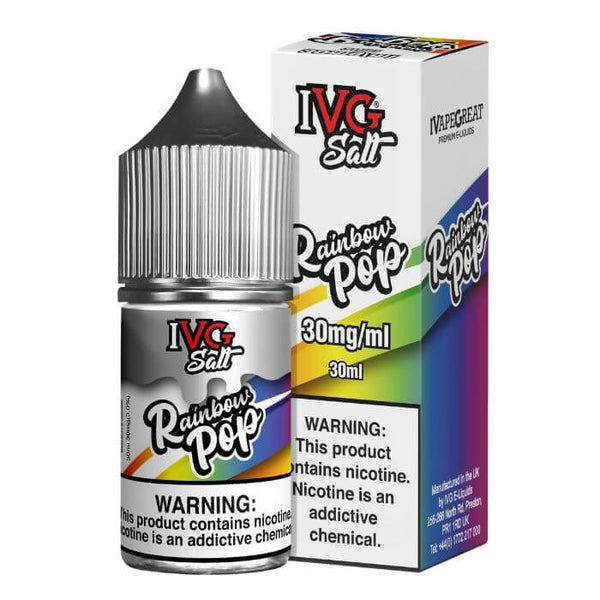 Rainbow Pop Nicotine Salt by IVG Premium E-Liquids