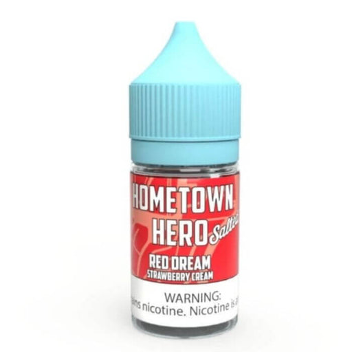 Red Dream Nicotine Salt by Hometown Hero Vapor