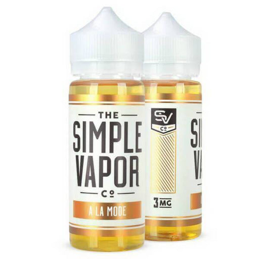 A La Mode by The Simple Vapor Co. eJuice #1