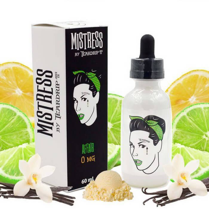 Affair by Mistress (Teardrip) Premium E-Liquid - Unavailable - Cheap Vape Juice - East Coast Vape Distribution