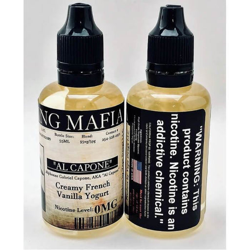 Al Capone by Vaping Mafia E-Liquid - Cheap Vape Juice - East Coast Vape Distribution