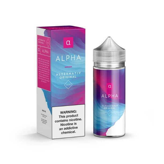 Alpha by Alternativ E-Liquid - Cheap Vape Juice - East Coast Vape Distribution