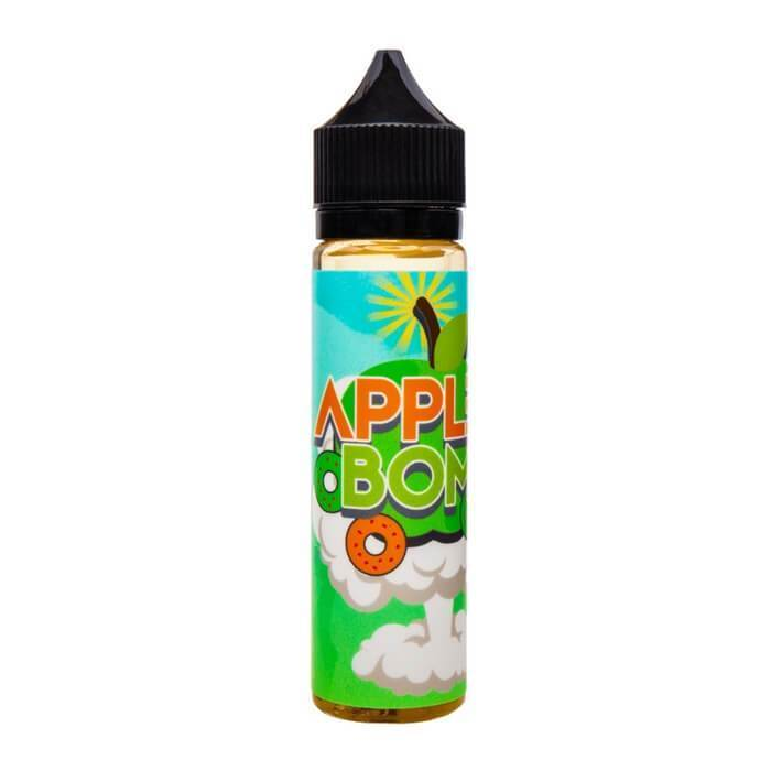 Apple Bomb by In Your Face Liquids - Cheap Vape Juice - East Coast Vape Distribution